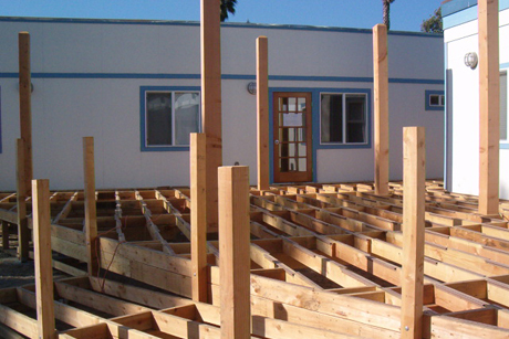 Bakersfield Deck Framing