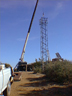 Construction of Tower for Bureau of Land Management