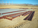 Construction of Metal Building for Mojave Wind Park